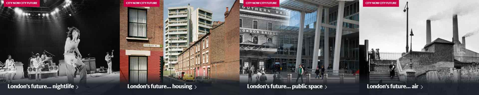 Articles from the London's future series