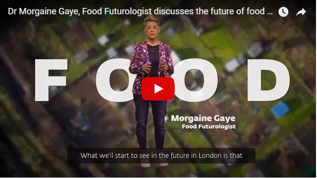 Click to see Dr. Morgaine Gaye discuss the future of food in the city