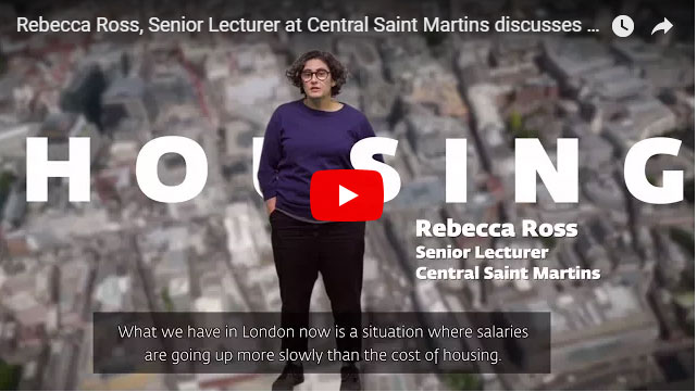 Rebecca Ross discusses the future of London's housing.